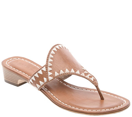 Bernardo Leather Sandals - Gabi