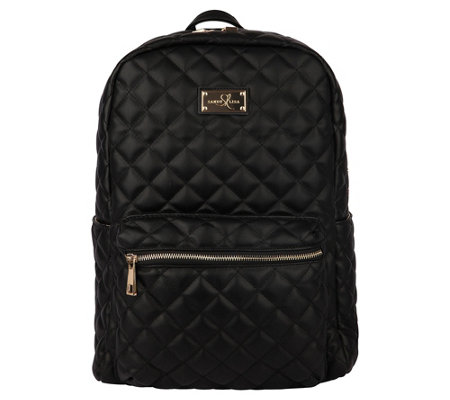Sandy Lisa St. Tropez Quilted Backpack