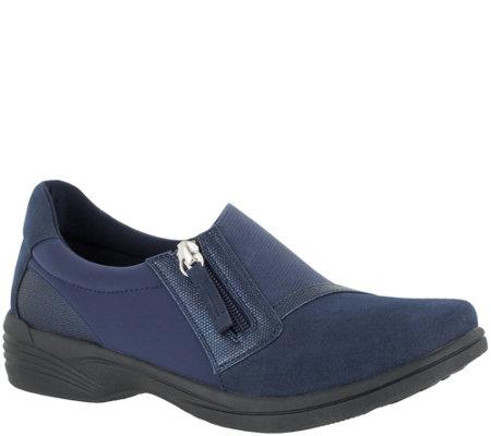 0357fc71fb03 SoLite by Easy Street Comfort Slip-Ons -Dreamy — QVC.com
