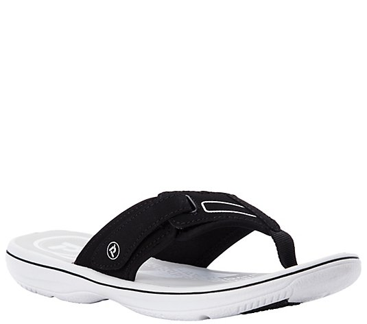 Propet Lighweight Thong Sandals - Edie
