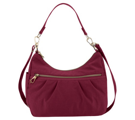 Travelon Anti-Theft Signature Hobo Handbag