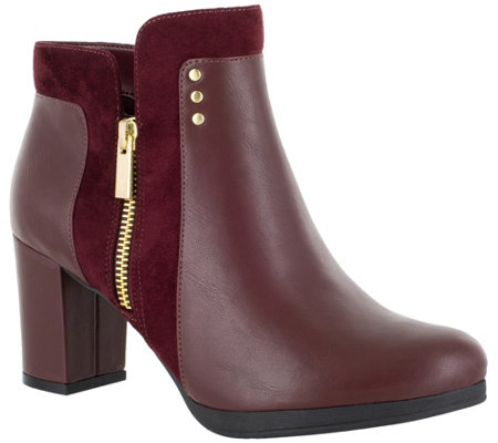 Bella Vita Block-Heel Booties - Loyal II
