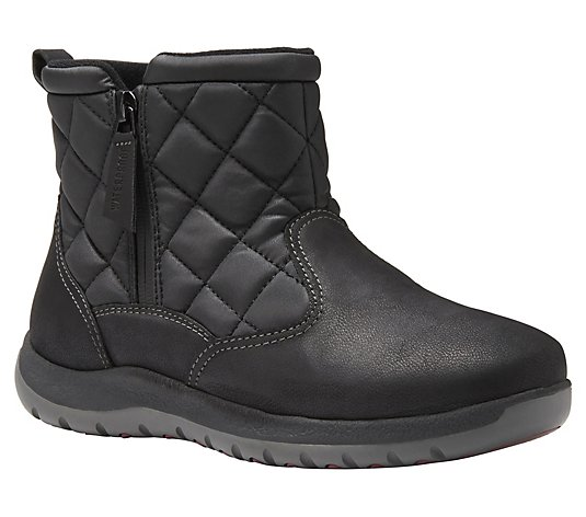 Eastland Waterproof Quilted Detail Upper Boots- Blossom