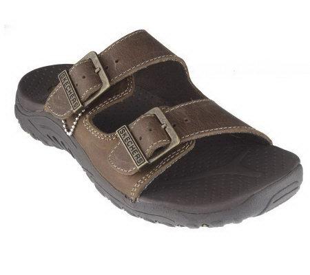 ea4c968e1589 Skechers Double Strap Adjustable Buckle Sandals - Page 4 — QVC.com