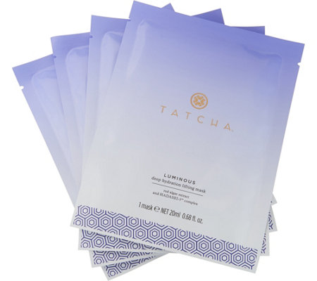 TATCHA Set of 8 Luminous Deep Hydration Masks