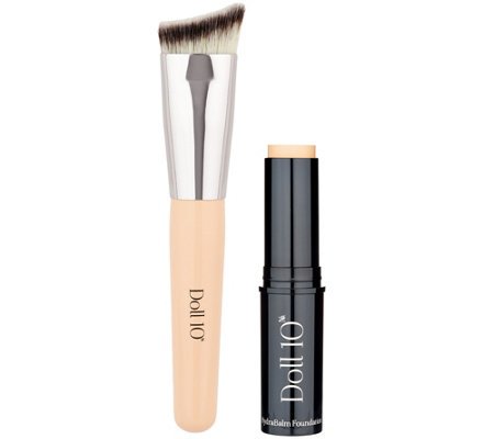 Doll 10 HydraBalm Foundation Stick w/ Brush