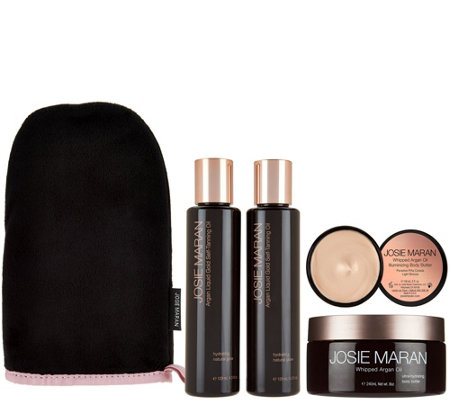 Josie Maran Super-Size Self Tan Oil & Whipped Body Kit