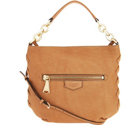 """As Is"" Aimee Kestenberg Leather Convertible Crossbody"