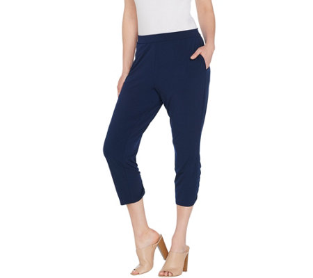 Every Day by Susan Graver Regular Liquid Knit Crop Pants