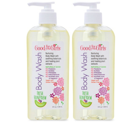 Good For You Girls Honeydew Body Wash 2-Pack