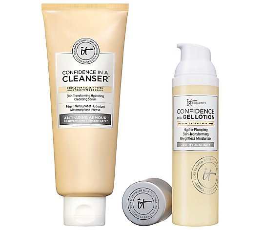 IT Cosmetics Confidence in a Gel Lotion and Cleanser Set
