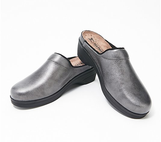 MEPHISTO Leather Clogs - Satty