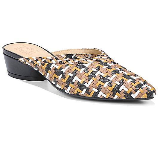Naturalizer Slip-On Heeled Mules - Bismark