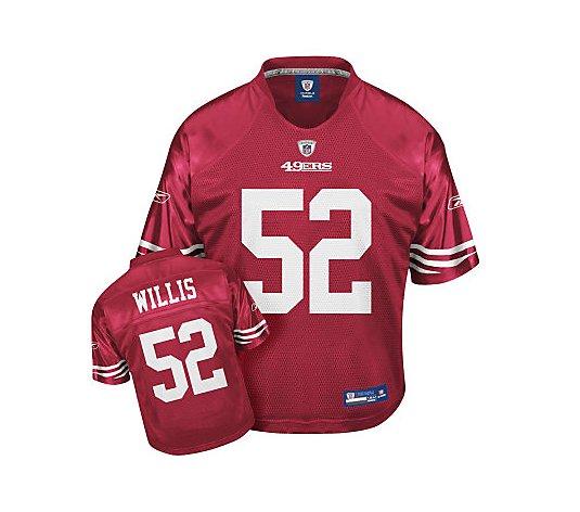 NFL SF 49ers Patrick Willis Infant Replica TeamColor Jersey - QVC.com