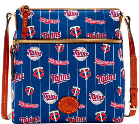 Dooney & Bourke MLB Nylon Twins Crossbody