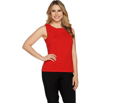 Linea by Louis Dell'Olio Whisper Knit Jersey Shell Tank