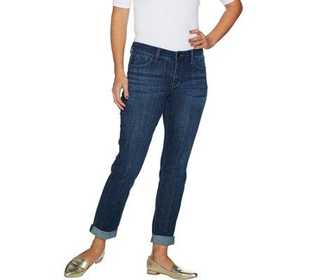 Laurie Felt Classic Denim Boyfriend Jeans Page 1 Qvc Com