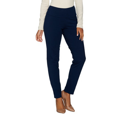 """As Is"" Women with Control Regular Tummy Control Ankle Pants"