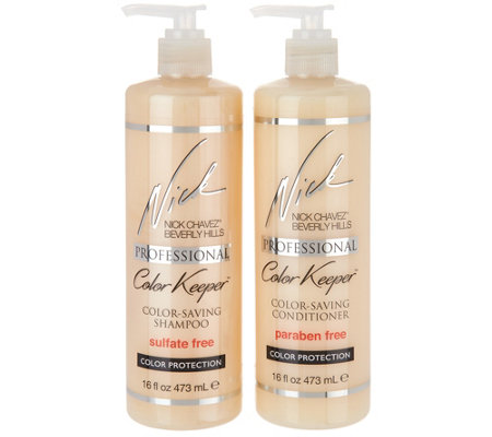 Nick Chavez Color Keeper Shampoo And Conditioner
