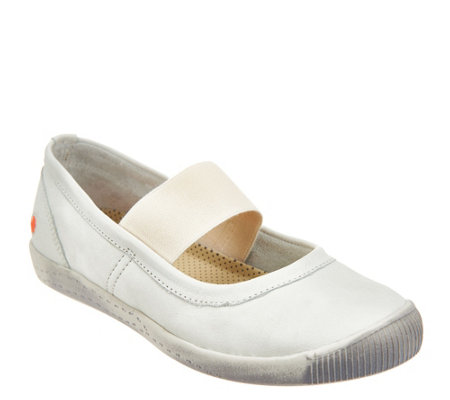 Softinos by FLY London Washed Leather Mary Janes - Ion