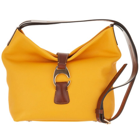 Dooney & Bourke Leather Crossbody Hobo - Derby