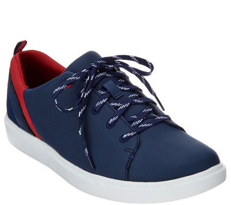 """As Is"" CLOUDSTEPPERS by Clarks Lace Up Sport Shoes- Step Verve Lo"