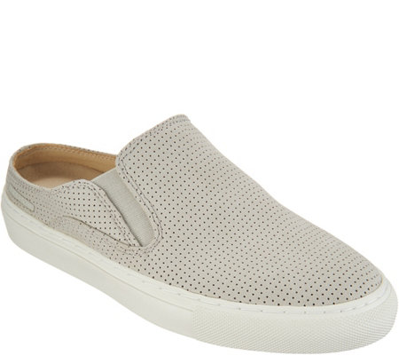 """As Is"" Skechers Perforated Open Back Mules- Vaso Mitad"