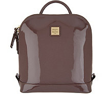 Dooney Bourke Patent Leather Pod Backpack A346518