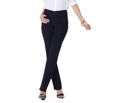 807534f84d8 NYDJ Marilyn Straight Leg Jeans - Page 1 — QVC.com