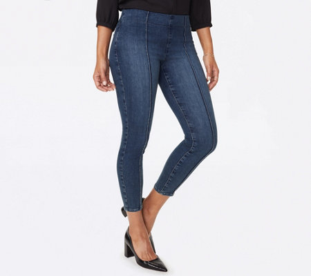 NYDJ Pull-On Skinny Ankle Jeans - Hahn