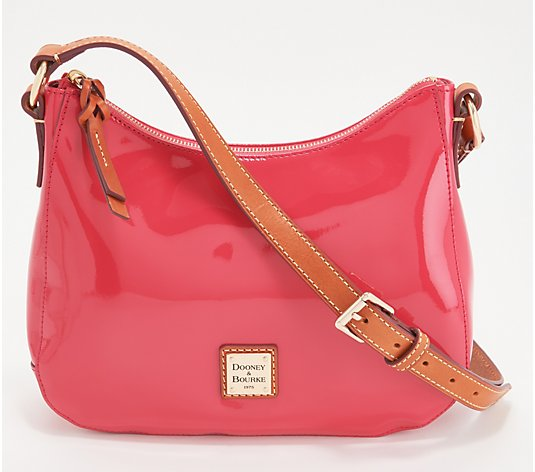 Dooney & Bourke Patent Leather Small Kiley Crossbody
