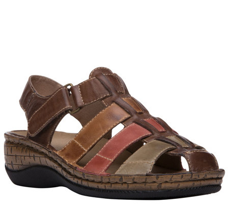 Propet Leather Sandals - Jubilee