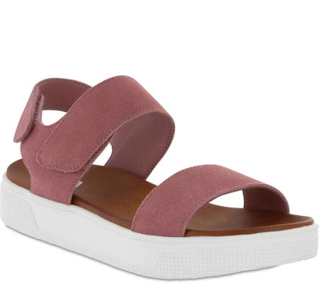 MIA Shoes Flat Sandals - Troy