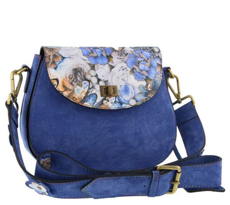L'Artiste by Spring Leather Handbag - Shelley