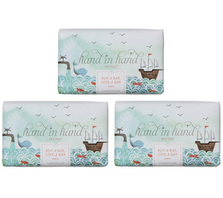 Hand in Hand Classic Bar Soap, 3-Pack