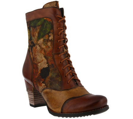 L'Artiste by Spring Step Leather Boots - Charming
