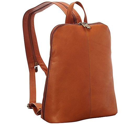 Le Donne Leather Women's Tech-Friendly Backpack