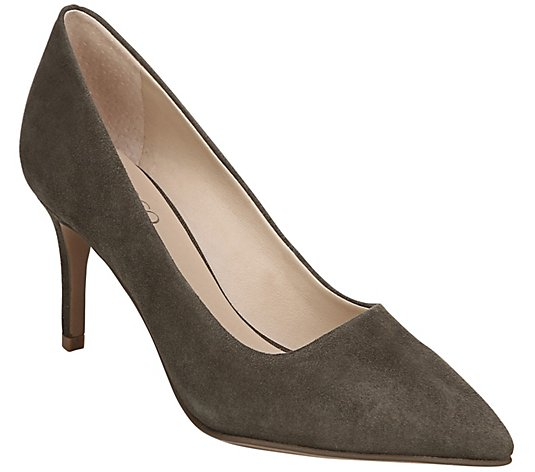 Franco Sarto Kitten Heel Pumps - Tudor