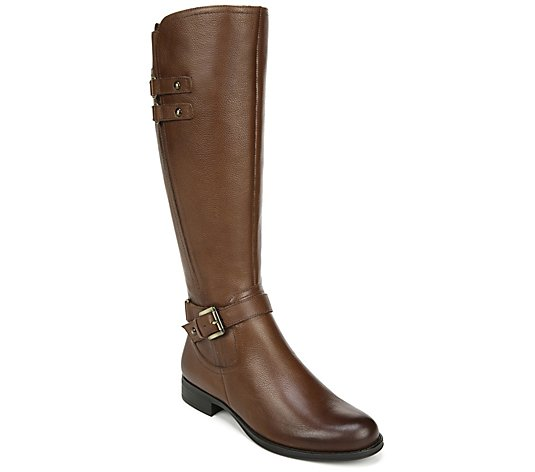 Naturalizer High Shaft Wide Calf Riding Boots -Jackie