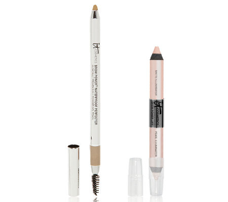 IT Cosmetics Brow Perfector Auto 5-in-1 Gel & Brow Lift Duo Auto-Delivery