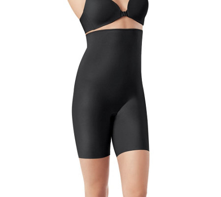 86fc09eea9 Spanx Slimplicity High Waist Mid-Thigh Shaper - Page 1 — QVC.com