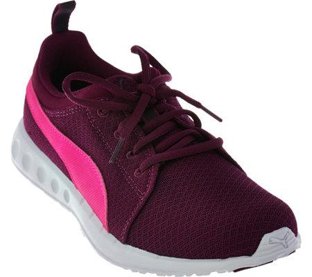edc2c48f6af PUMA Mesh Lace-Up Sneakers - Carson - Page 1 — QVC.com