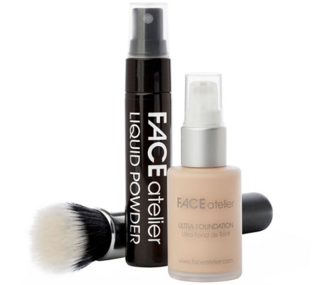 FACE Atelier The Flawless Face Foundation Set with Brush