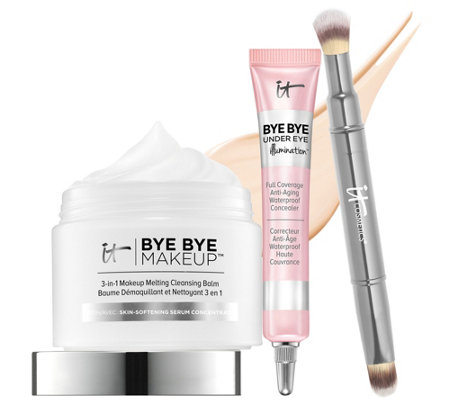 IT Cosmetics IT's Your Skin Transforming Cleanse & Conceal Trio