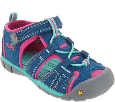 KEEN Girls Sport Sandals Toddler -Seacamp II CNX