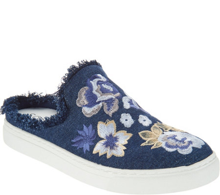 Sole Society Slip-On Mules -Belynda