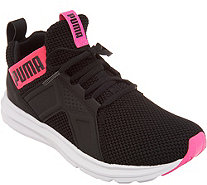 PUMA Mesh Lace-Up Sneakers - Enzo Weave - A309719