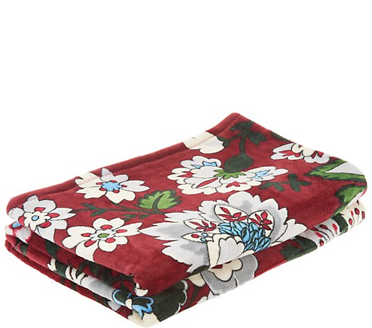Vera Bradley Signature Print 50x80 Fleece Blanket