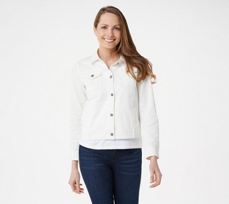 Women with Control My Wonder Denim Colored Jacket