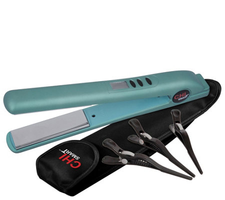 CHI Smart Titanium Ceramic Digital Styling Ironw/ Thermal Bag